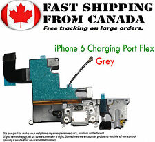 Replacement Part For iPhone 6 Grey Charging Port Flex Audio Dock Connector