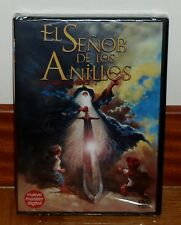 EL SEÑOR DE LOS ANILLOS-THE LORD OF THE RINGS-DVD-NUEVO-PRECINTADO-NEW-ANIMACION