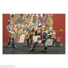 FIGURAS FIGURES U2 EN RESINA NUEVAS  NEW BONO THE EDGE