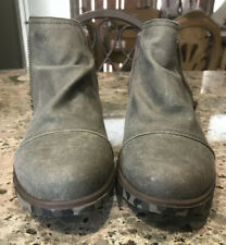 Sorel Canvas Ankle Boot Size 9
