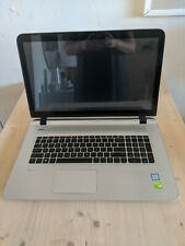 HP Envy Touchsmart 17-S066NR Notebook   i7-6500U With Charger & Carrying Bag