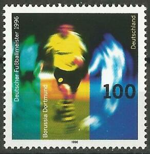 Germany 1996 MNH Borussia Dortmund German Football Champions  Mi-1879 SG-2735