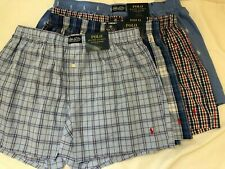 NWT Polo Ralph Lauren Polo Striped Woven Underwear Boxer Shorts SZ S M L XL $28
