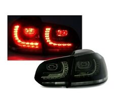 2 FEUX ARRIERE LED NOIR TRANSLUCIDE VW GOLF 6 LOOK GTI