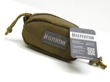 Maxpedition Khaki Cocoon Edc Compact Zippered Pouch Case Bag w/ Lanyard PT1155K