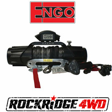 "Engo XR10S Electric 10k Synthetic Winch 3/8 X 85"" & ALUMINUM HAWSE FAIRLEAD"