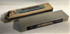 Vintage NOS Norton Queer Creek Oilstone - Sharpening Stone No. KB8 Original Box