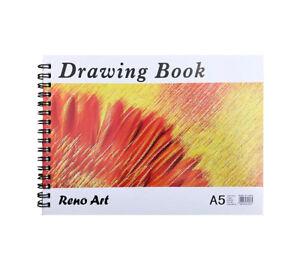 Drawing Book Pad A5 30 Sheet 110gsm Drawing Painting for Kids Art Craft Reno Art