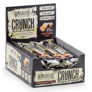 Warrior Crunch Bar - 64g (Various Flavours) (Min Order of 3 Bars) £2.00 each