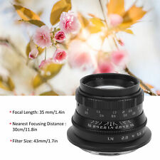 35mm f/1.4 RF Mount Full Frame Manual Lens for Canon EOS R/RP/R5/R6 Camera Lens
