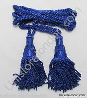 Cord Bagpipe Drone Cords Highland Silk Royal Blue Military & Ceremonial R1202