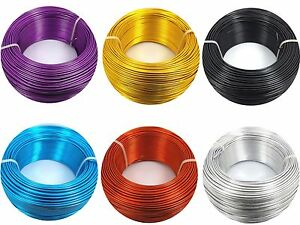 5 Metre x 0.8MM Aluminium WIRE for Florist Floral, DIY, Jewellery Making Craft..