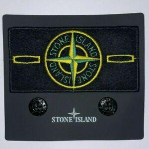 STONE ISLAND PATCH - Originale Badge Stone Island OriginalePatch Toppa + Bottoni