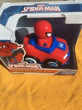 Marvel Spiderman Push n Go Car Toy For Toddlers