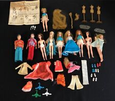 Vintage Large Lot Of 10 Dawn Dolls, Dawn, Gary, Head To Toe Dawn,Clothing Assec.