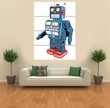 FRACTAL LIGHT ROBOT 8  NEW GIANT POSTER WALL ART PRINT PICTURE G1169