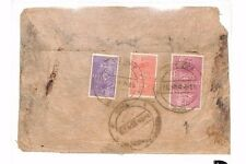 BF21 1960s NEPAL Official SERVICE Cover Attractive 3-Colour Franking