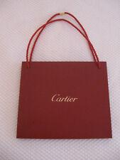 """New listing Genuine Cartier Medium Shopping Bag- Cartier Red, 10 1/8"""" x 8 7/8"""" x 3 1/2"""", New"""