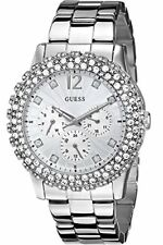 Guess w0335l1 Dazzler Wrist Watch Stainless Steel Silver