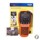 Brother PT-E100 Handheld Electricians Industrial Label Printer and Tape