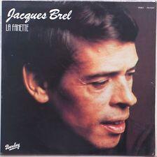 JACQUES BREL: La Fanette SEALED Barclay / Peters VINYL LP France Vocals POP