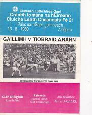 1989 All Ireland U-21 Hurling Semi-Final Galway v Tipperary