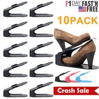 Shoe slots Space Saver 10 piece Set Organizer Shoe Storage Slot Shoe Rack Holder