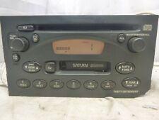 00 01 02 03 Saturn Ion Vue LS Radio Cd Cassette Player 21024009 XCF11