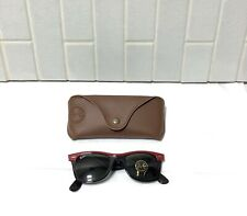 Ray Ban Sunglasses RB2143 Wayfarer II Red | Black ~ BRAND NEW W/ CASE & BOX