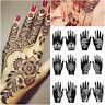 Henna Template Sticker Temporary Hand Decal Tattoo Stencils DIY Body Art