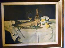 dipinto ad olio raffigurante natura morta