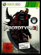 Xbox 360 Prototype 2 OVP incl. juego de instrucciones limitado código de acceso inliegend