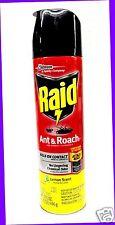 1 Raid ANT & ROACH Bug Defense System LEMON SCENT Killer Spray KILLS ON CONTACT