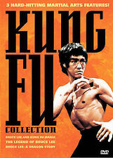 The Kung Fu Collection (DVD, 2005) Bruce Lee  NEW/SEALED