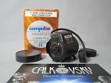 COMPUTAR WIDE ANGLE LENS 1.6/2.6MM (CS) C-MOUNT LENS CCTV TV SECURITY CAMERA