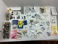 HO SCALE 1:87 TRAIN ENGINE AND OTHER PARTS FOR REPAIR, SCREWS, SPRINGS, COUPLERS