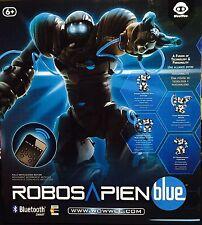 WowWee ROBOSAPIEN Blue Smartphone Bluetooth Enabled Robot Toy