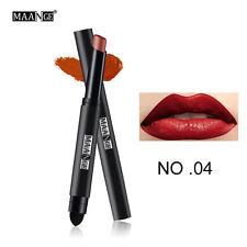 Duradero mate rojo lápiz  labios labial impermeable pluma Pintalabios Maquillaje