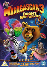 MADAGASCAR 3 - EUROPES MOST WANTED - DVD - REGION 2 UK