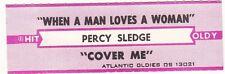 Juke Box Strip Percy Sledge - When A Man Loves A Woman / Cover Me