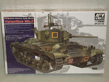 AFV Club 1/35 Scale British Valentine Mk.I Tank - Factory Sealed