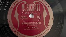Paul Lavalle - 78rpm single 10-inch – Musicraft #294 A Kiss In The Dark