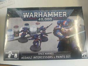 Games Workshop Assault Intercessors & Paint Set Warhammer 40k Starter Set