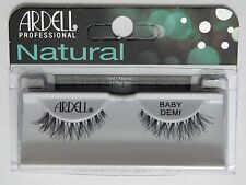 (LOT OF 72) Ardell Natural BABY DEMI False Fake Eyelashes Black Wispies