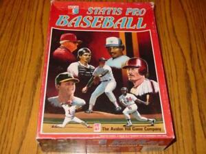 AH Statis Pro Baseball Game: 1988 Season MLB League Player Cards (UNCUT) & NMINT