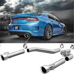"Magnaflow 3"" Axle Back Dual Exhaust System 2015-2019 Dodge Charger 6.2L 6.4L V8"
