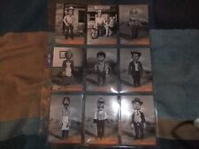 GERRY ANDERSON FOUR FEATHER FALLS 18 CARD SET NEW UNSTOPPABLE NICHOLAS PARSONS