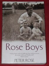 ROSE BOYS ~ Peter Rose ~ BIOGRAPHY VFL ~ COLLINGWOOD