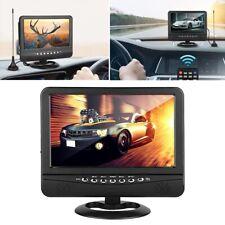 "9.5"" Portable LED Car Digital TV Television USB Video Player Analog Mobile DVD"