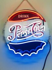 New Drink Pepsi Wall Decor Acrylic Bedroom Gift Neon Light Sign 14""